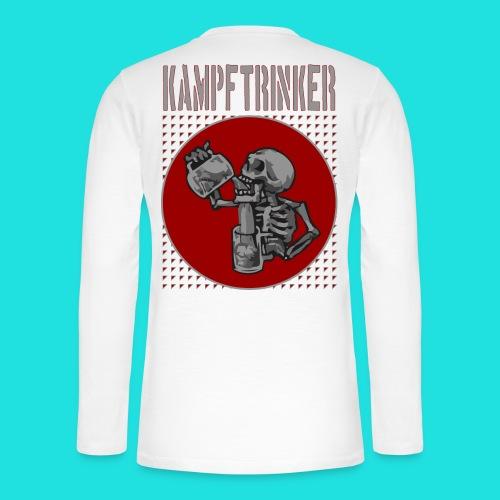 Kampftrinker - Henley Langarmshirt