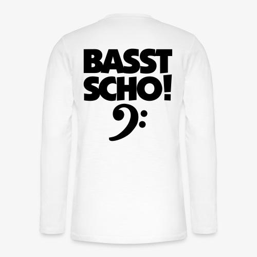 BASST SCHO! Bass Design für Bassisten - Henley Langarmshirt