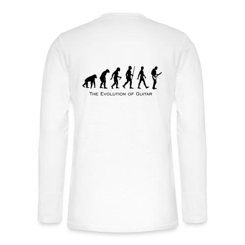 The Evolution Of Guitar - Camiseta panadera de manga larga Henley