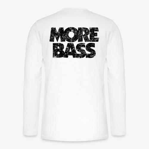 More Bass (Vintage/Schwarz) Bassist Bassisten - Henley Langarmshirt