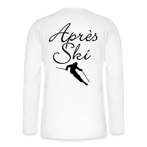 Apres Ski Skier Wintersport Skifahrer - Henley Langarmshirt