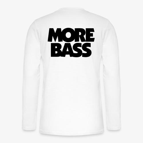 More Bass Bassist Bassisten - Henley Langarmshirt