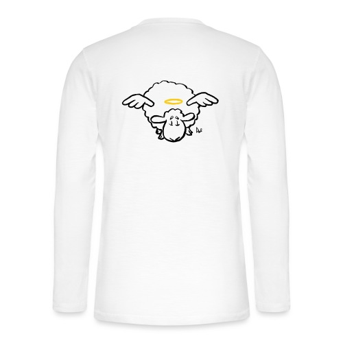 Angel Sheep - Henley Langarmshirt