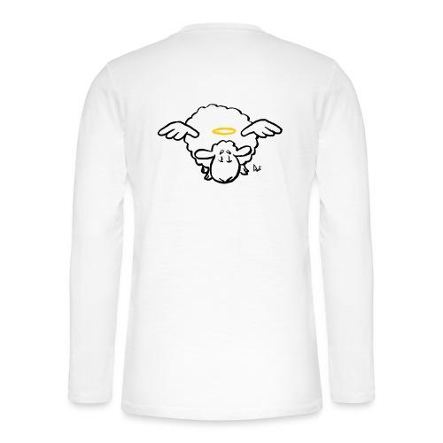 Angel Sheep - Henley T-shirt med lange ærmer