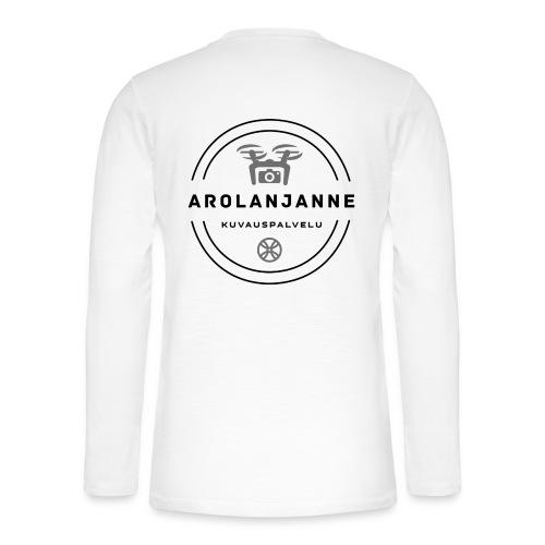 Janne Arola - kuva takana - Henley pitkähihainen paita