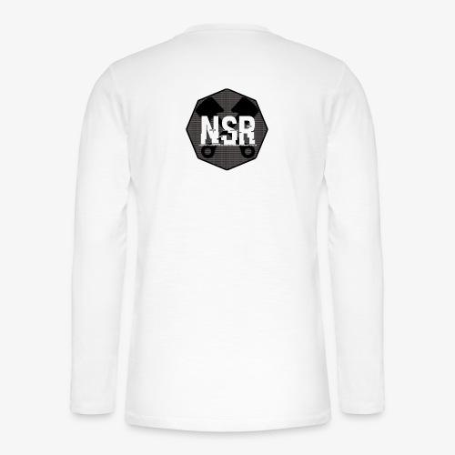 NSR B/W - Henley pitkähihainen paita