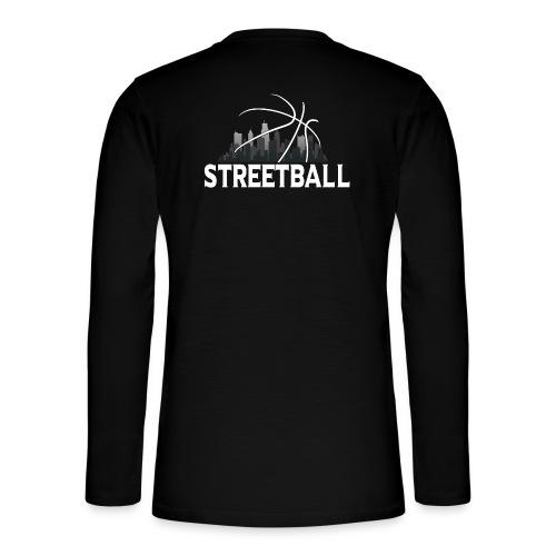 Streetball Skyline - Street basketball - Henley long-sleeved shirt
