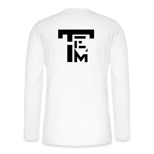 TEM BLACK - T-shirt manches longues Henley