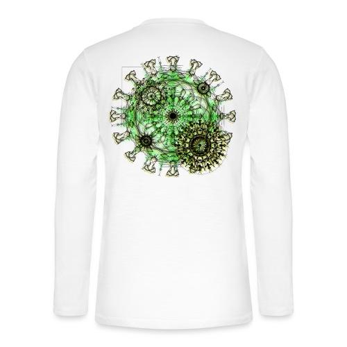 Virus 150220 ds. A - Henley long-sleeved shirt