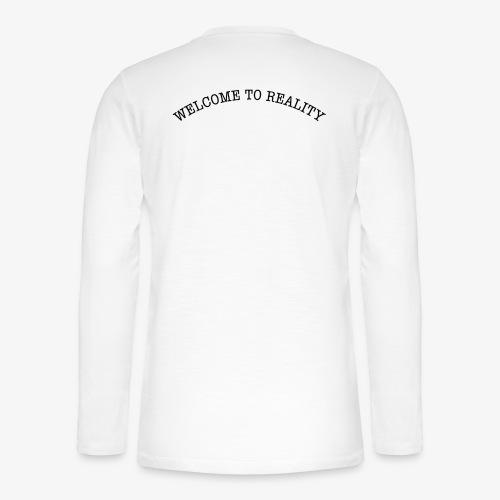 WELCOME TO REALITY - Henley Langarmshirt