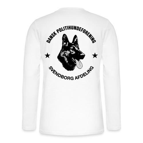 Svendborg ph sort - Henley T-shirt med lange ærmer