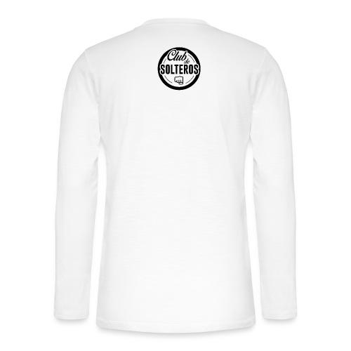 Club de Solteros (logo negro) - Camiseta panadera de manga larga Henley