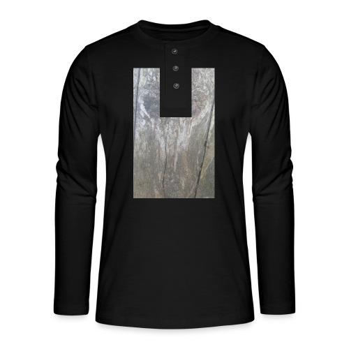 Wooden Demon - Henley shirt met lange mouwen