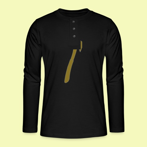 Axt - Henley Langarmshirt