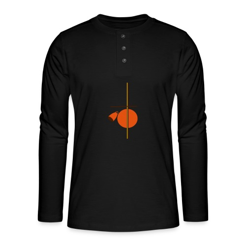 berimbau caxixi - Henley long-sleeved shirt