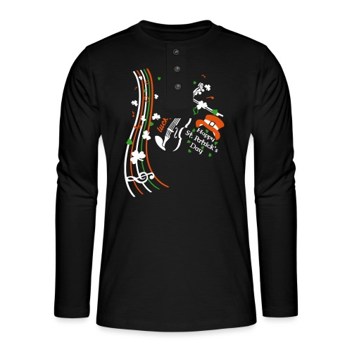 St.Patrick's Day - Henley long-sleeved shirt