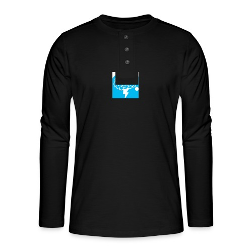Authentic Mental Health - Henley long-sleeved shirt