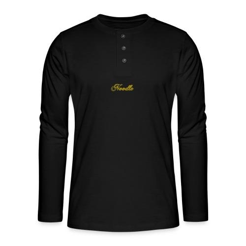 Noodlemerch - Henley long-sleeved shirt
