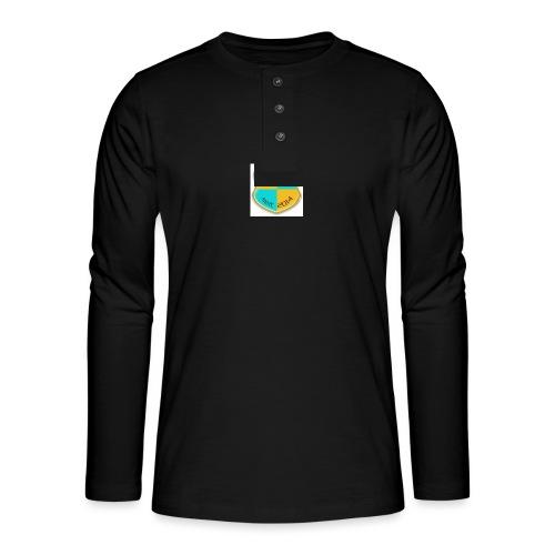 STG Vienna Kickers Logo - Henley Langarmshirt