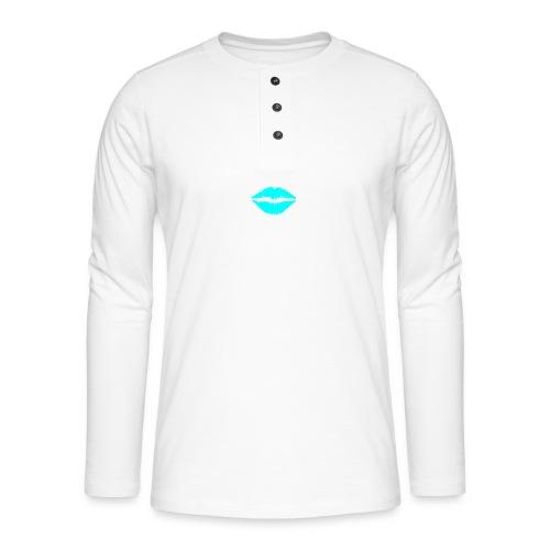 Blue kiss - Henley long-sleeved shirt