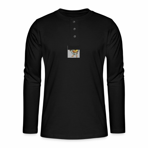 SWAG Chicken Logo - Henley long-sleeved shirt