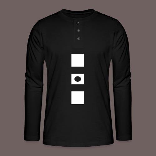 GBIGBO zjebeezjeboo - Rock - Blocs 3 - T-shirt manches longues Henley