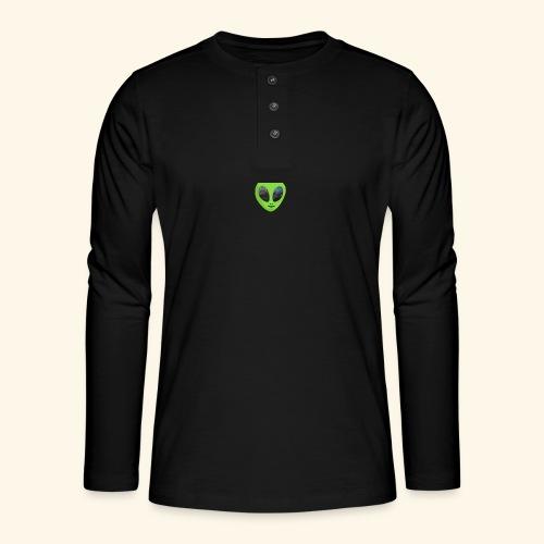 ggggggg - Henley shirt met lange mouwen