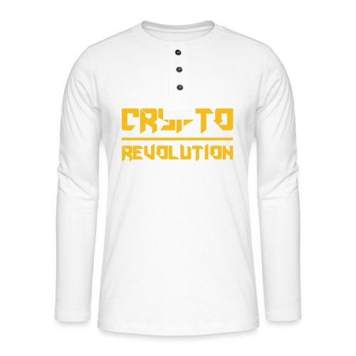 Crypto Revolution III - Henley long-sleeved shirt