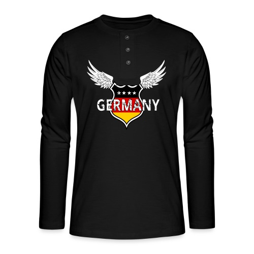 Germany Football - Henley shirt met lange mouwen