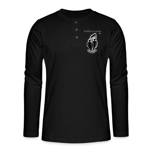 La música nos acerca I - Camiseta panadera de manga larga Henley