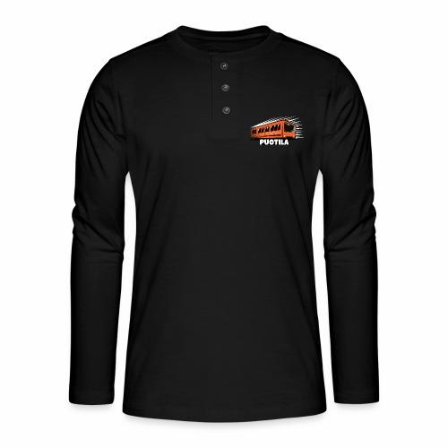 HELSINKI PUOTILA METRO T-Shirts, Hoodies, Gifts - Henley pitkähihainen paita