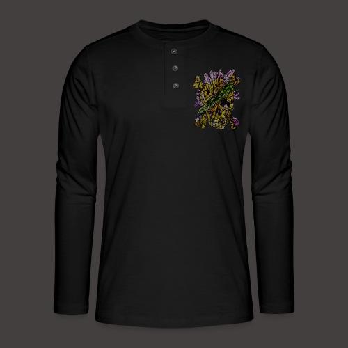 Crane de Pirate de Cristal Creepy - T-shirt manches longues Henley