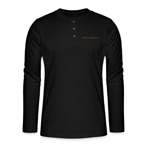ScrewP4 Final - Henley long-sleeved shirt