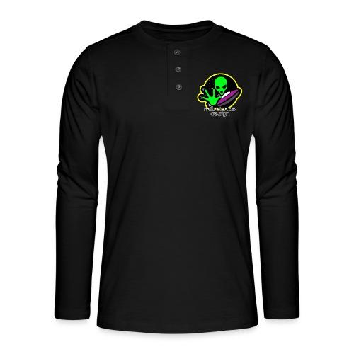 Camisetas y Chaquetas Logo Marcianos Design - Camiseta panadera de manga larga Henley