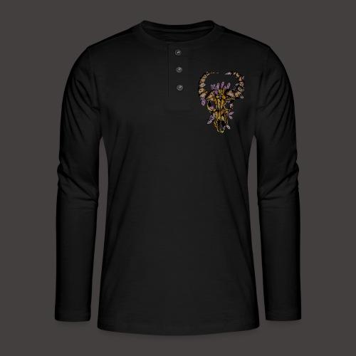 Buffle de Cristal Creepy - T-shirt manches longues Henley