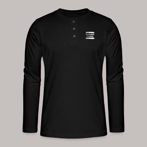 RowdyFabs Logo - Henley Langarmshirt