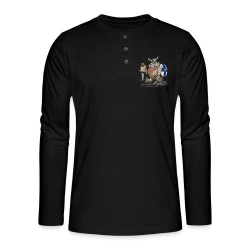 FINLAND VIKING T-paidat, tekstiilit ja lahjaideat - Henley pitkähihainen paita