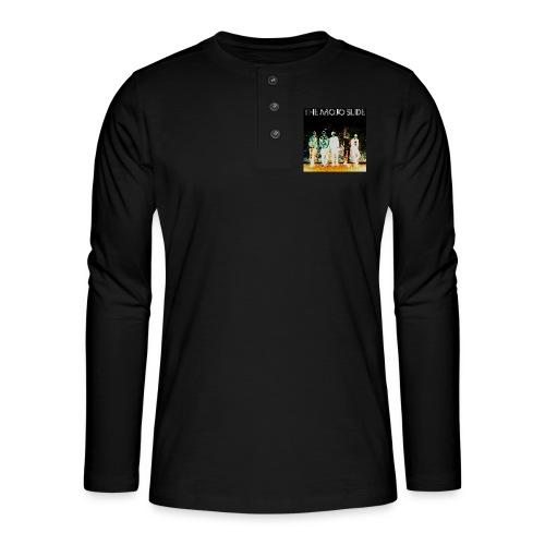 The Mojo Slide - Design 2 - Henley long-sleeved shirt