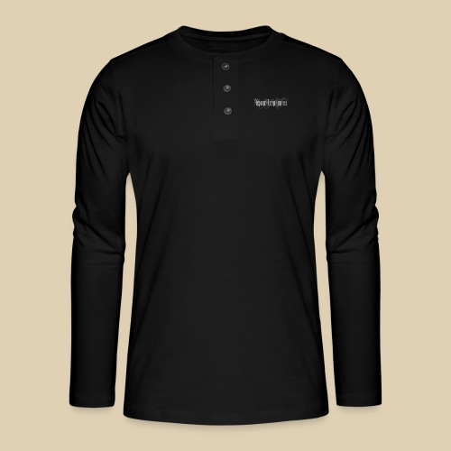 BF - Waves Classic Design Black - Henley Langarmshirt
