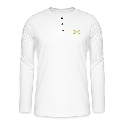 Triple Cross - Henley long-sleeved shirt