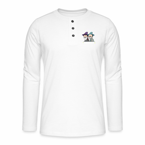 Marabouch'pic - T-shirt manches longues Henley