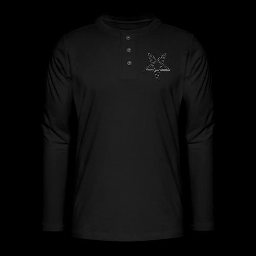 Pentagram4 png - Henley Langarmshirt