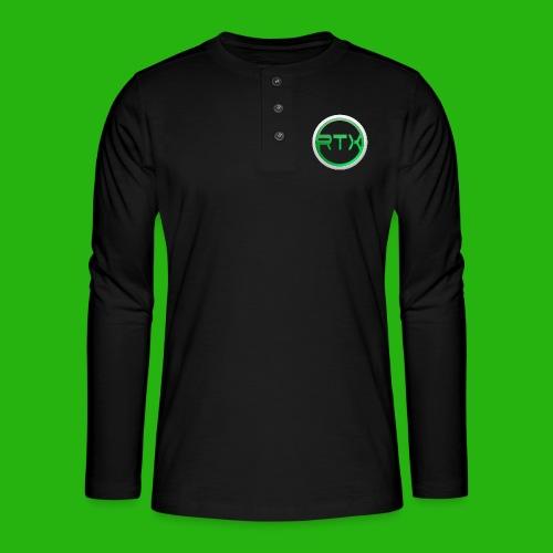 Logo SnapBack - Henley long-sleeved shirt
