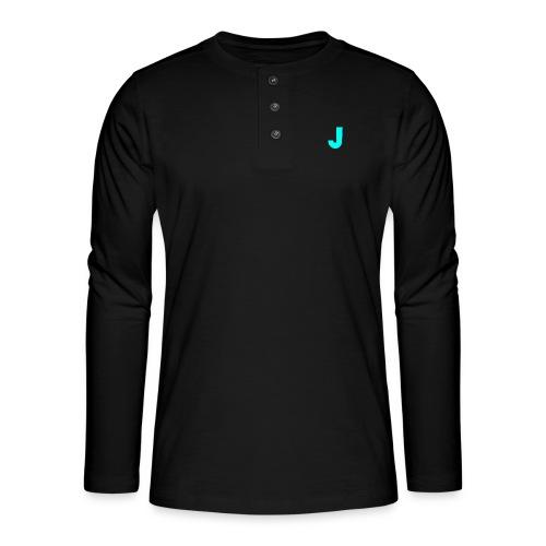 Jeffke Man T- Shirt - Henley shirt met lange mouwen
