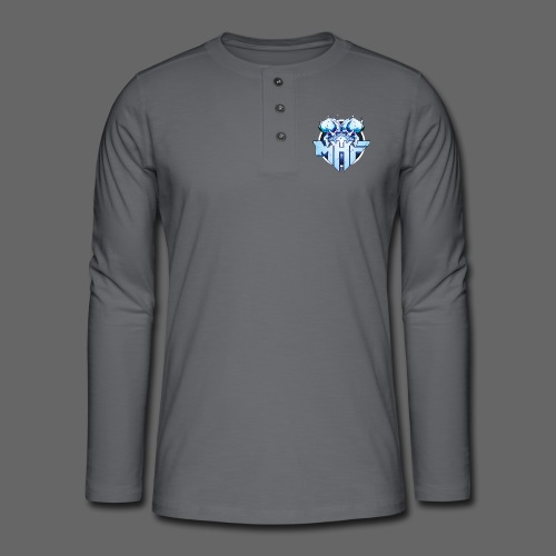 MHF New Logo - Henley long-sleeved shirt