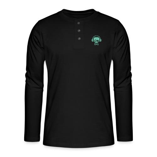 Gamer Design - Henley T-shirt med lange ærmer