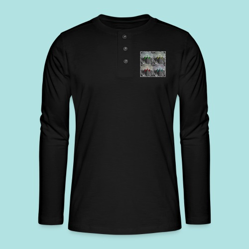 Invasion of the Giza Tombs - Henley long-sleeved shirt