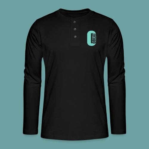 OBeat Logo O - Henley shirt met lange mouwen