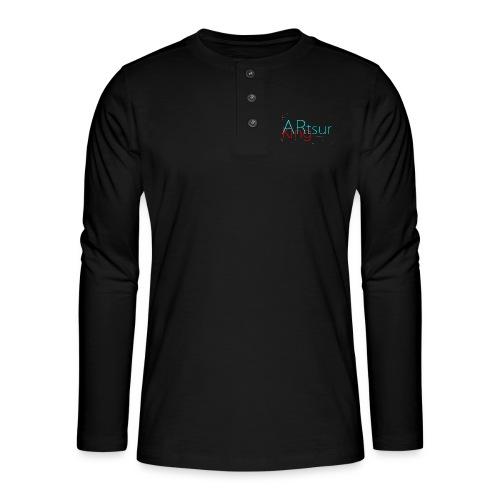 ARtsurKing Logo - Henley long-sleeved shirt