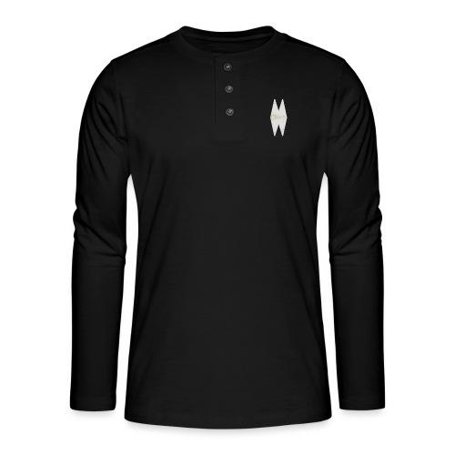 MELWILL white - Henley long-sleeved shirt